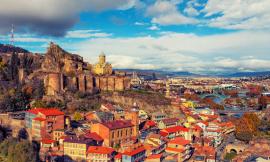 Tbilisi şəhərində gördüklərim