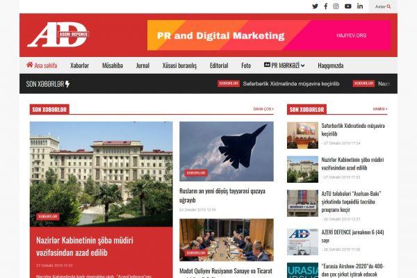 Azeri Defence jurnalı